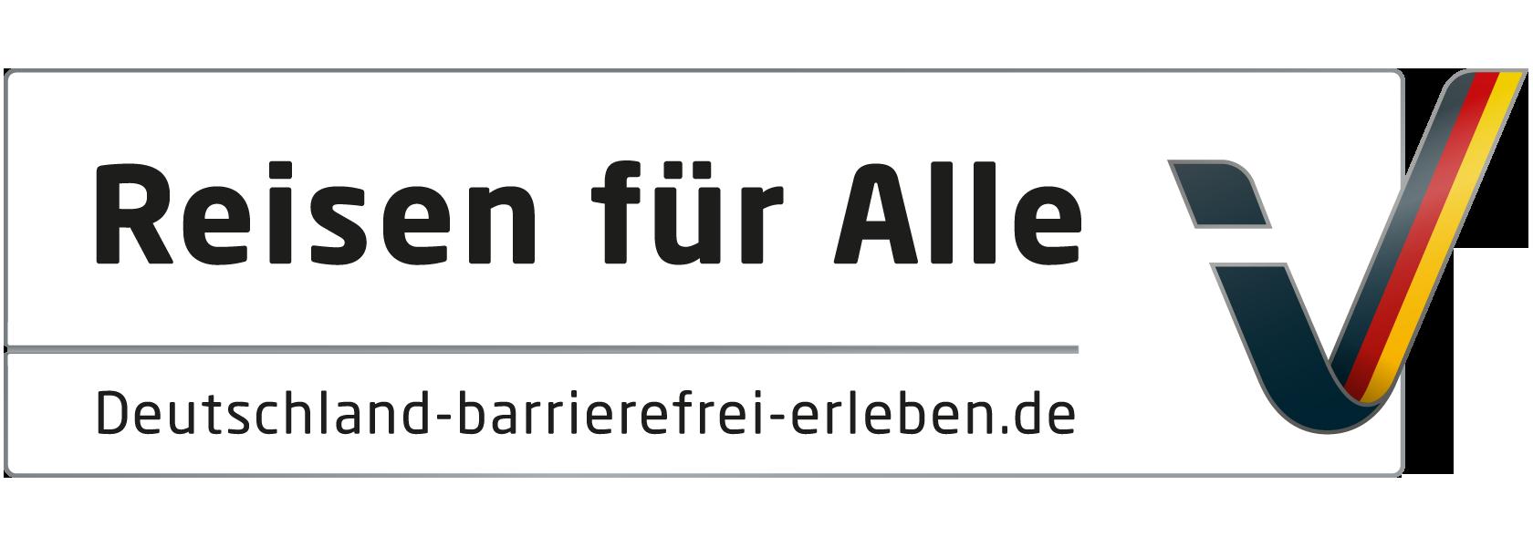 Das offizielle Logo des Projektes Reisen für Alle