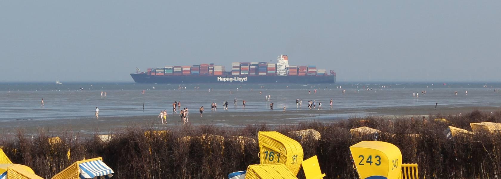 Schiffe beobachten Duhnen, © Die Nordsee GmbH, Katja Benke
