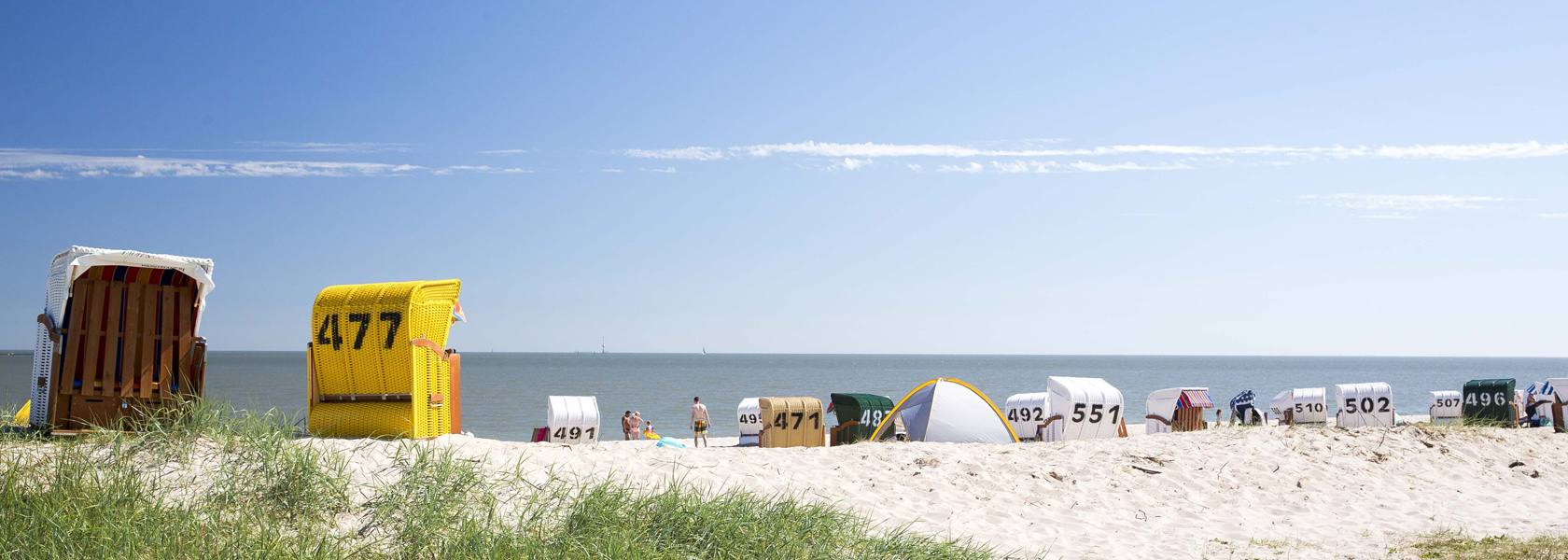 Strand im Wangerland, © Wangerland Touristik GmbH