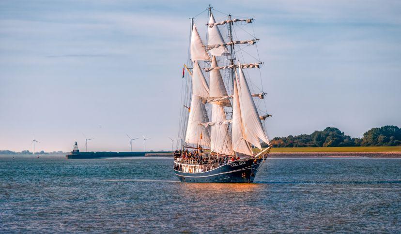 Segelschiff Thalassa, © Rainer Ganske