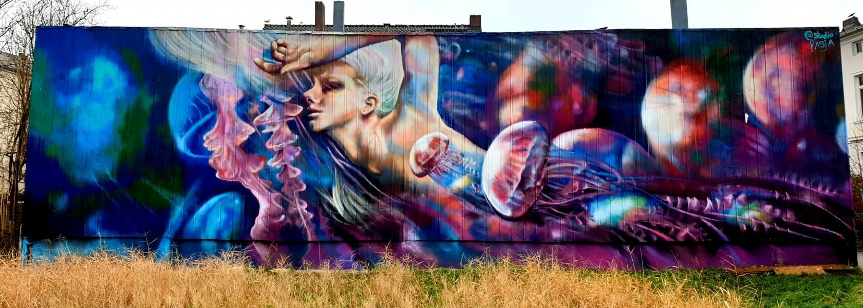 Mural Yasja, © Michael Diers