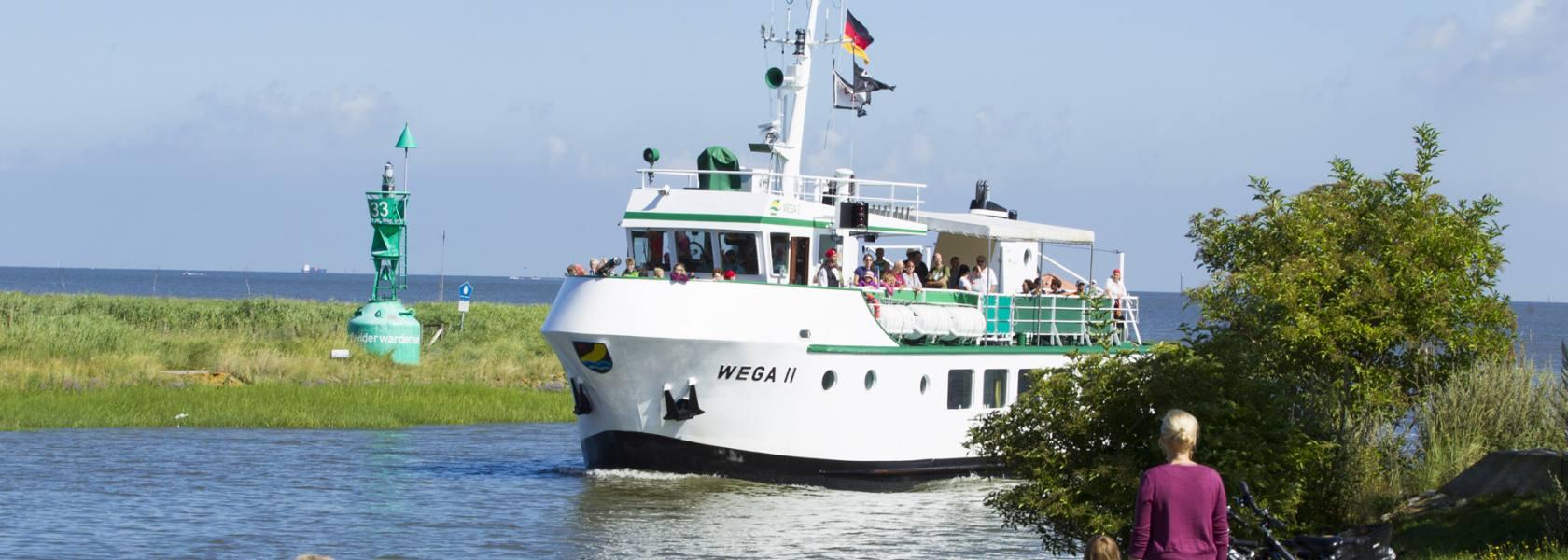 Wega II in Fedderwardersiel, © Tourismus-Service Butjadingen