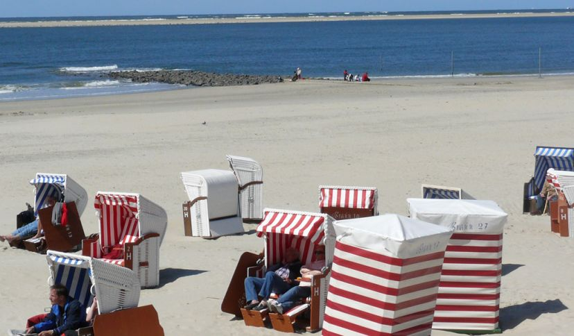 Strand Borkum, © Die Nordsee GmbH, Katja Benke