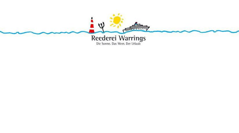 Reederei Warrings - Die Sonne. Das Meer. Der Urlaub, © Reederei Hillern Warrings GmbH & Co. KG