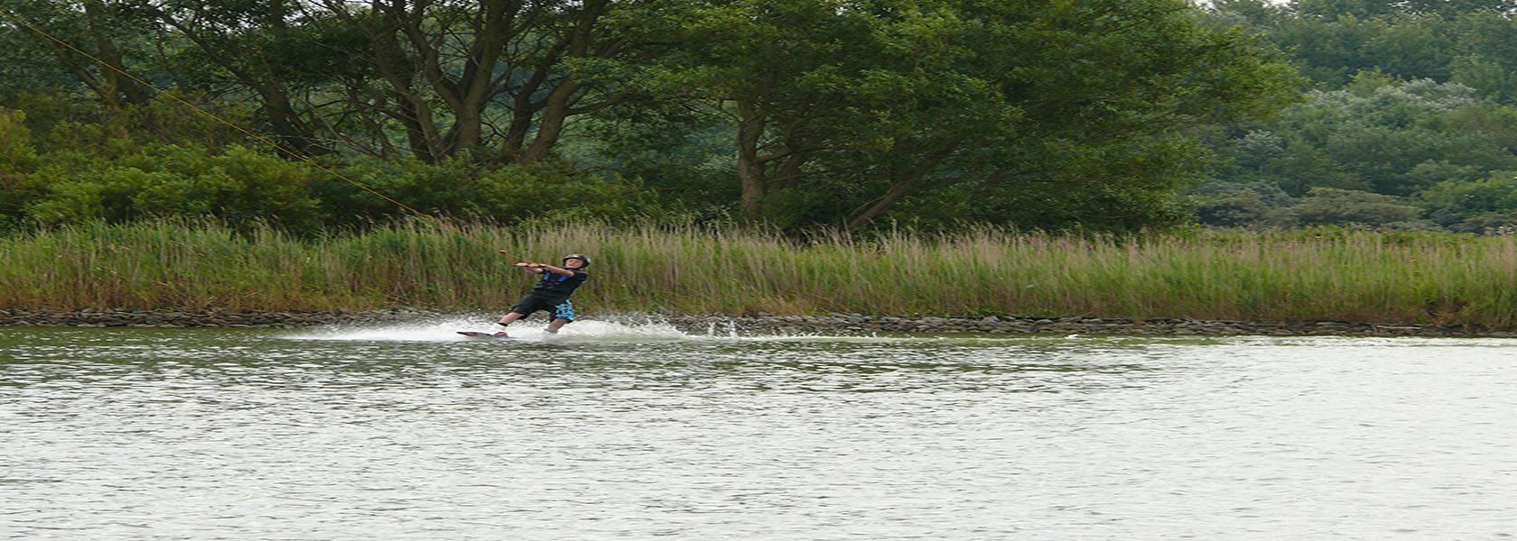 Wasserski an der Nordsee, © Die Nordsee GmbH, Janina Beck