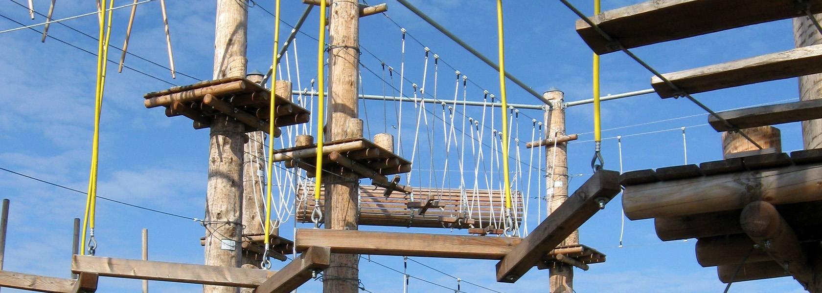 Kletterpark Kraxelmaxel Borkum, © Wirtschaftsbetriebe der Stadt NSHB Borkum GmbH