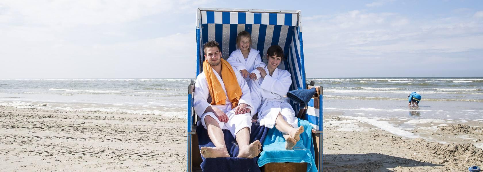 Im Strandkorb entspannen, © Die Nordsee GmbH, Martin Stöver