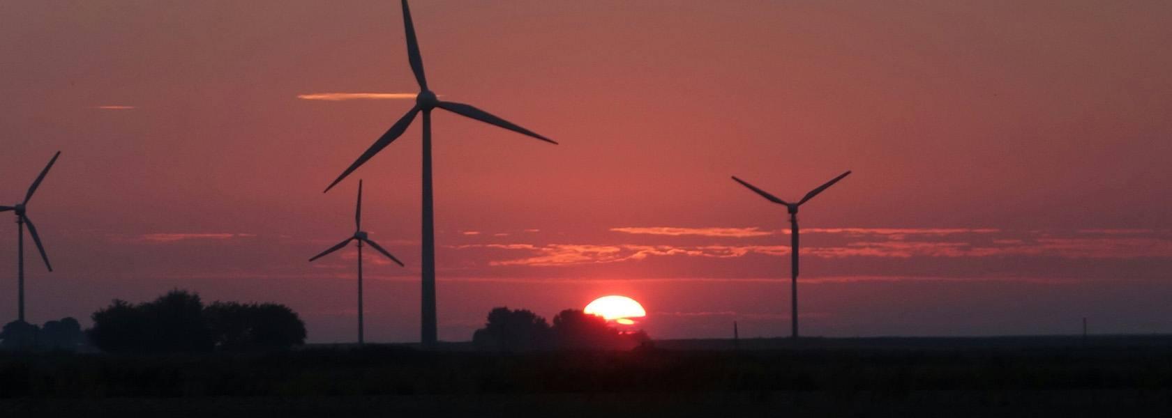 Windkraftanlage im Dornumerland, © Tourismus GmbH Gemeinde Dornum