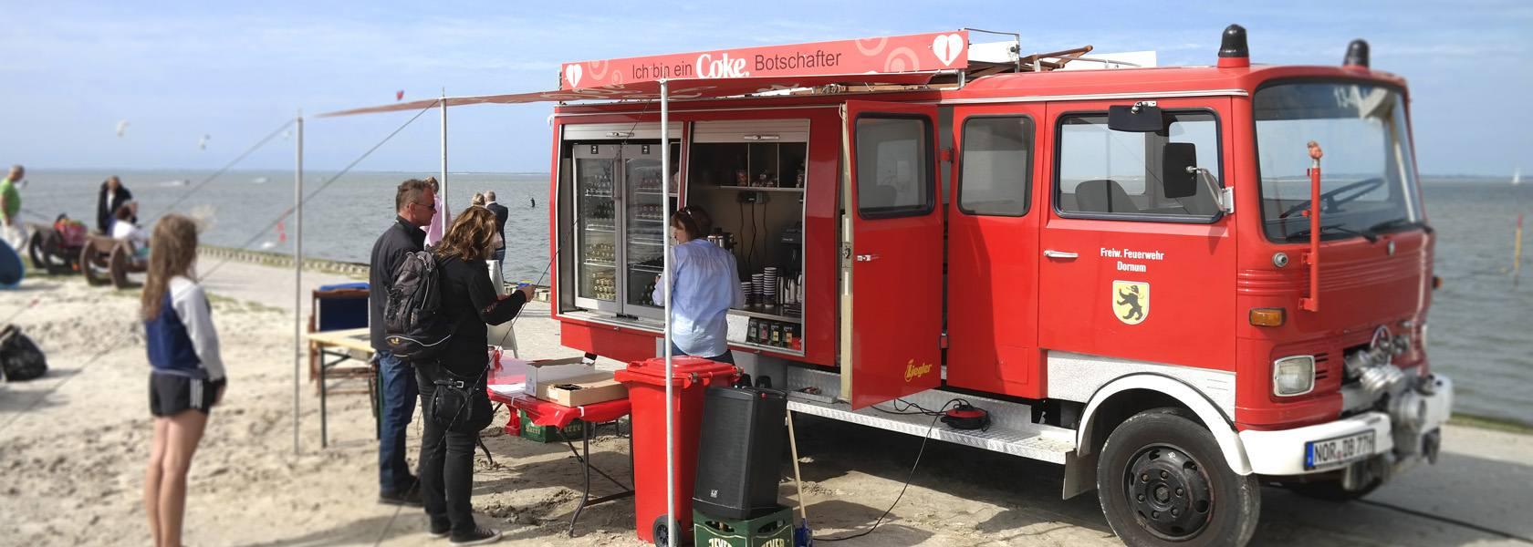 Durstlöscher in Dornumersiel, © Tourismus GmbH Gemeinde Dornum