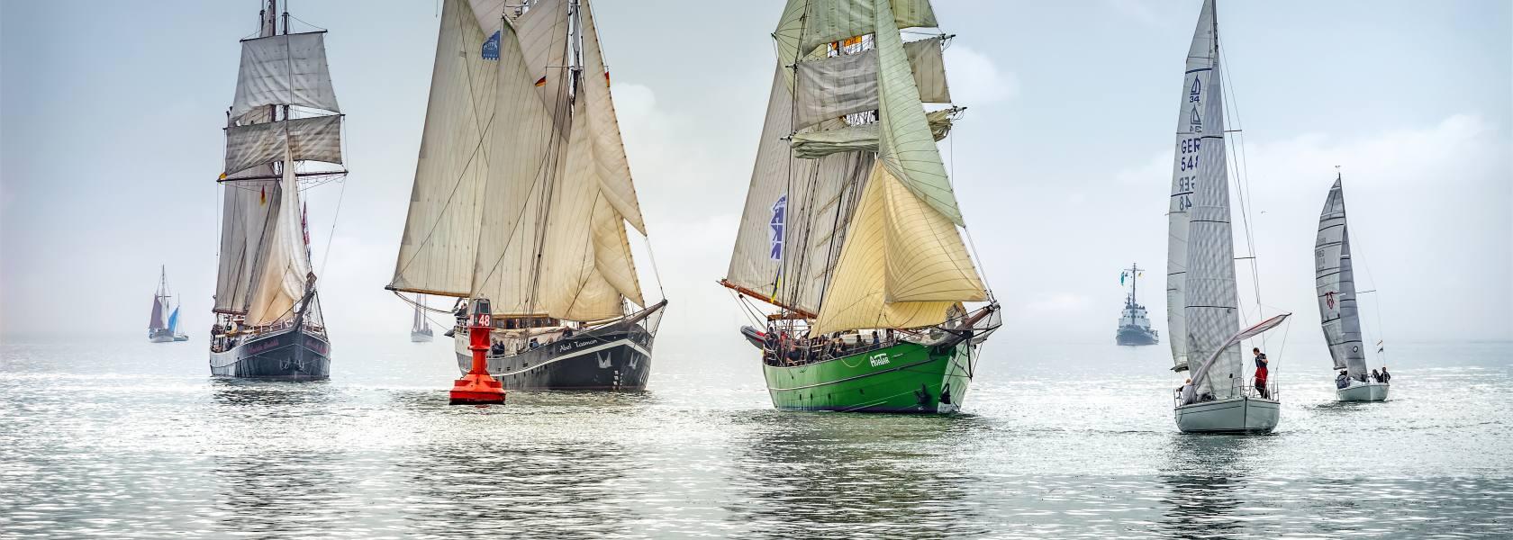 Sailing Cup Regatta, © Ganske, Wilhelmshaven Touristik