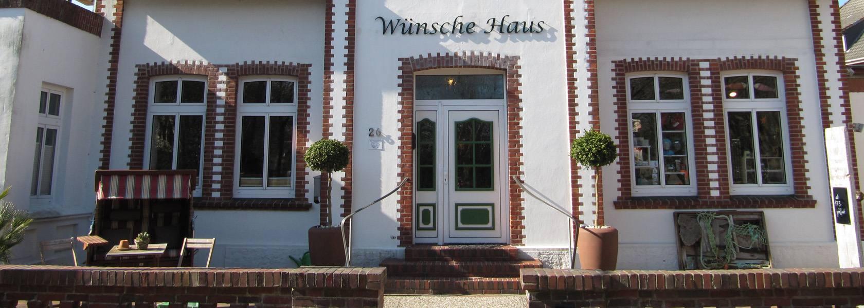 Wünsche-Haus auf Wangerooge, © Die Nordsee GmbH, Amke Behrends