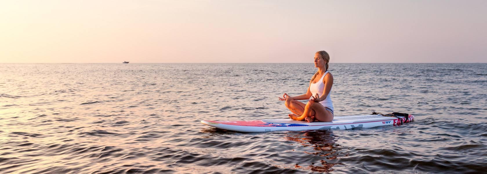 Meditation auf dem Wasser, © Staatsbad Norderney GmbH