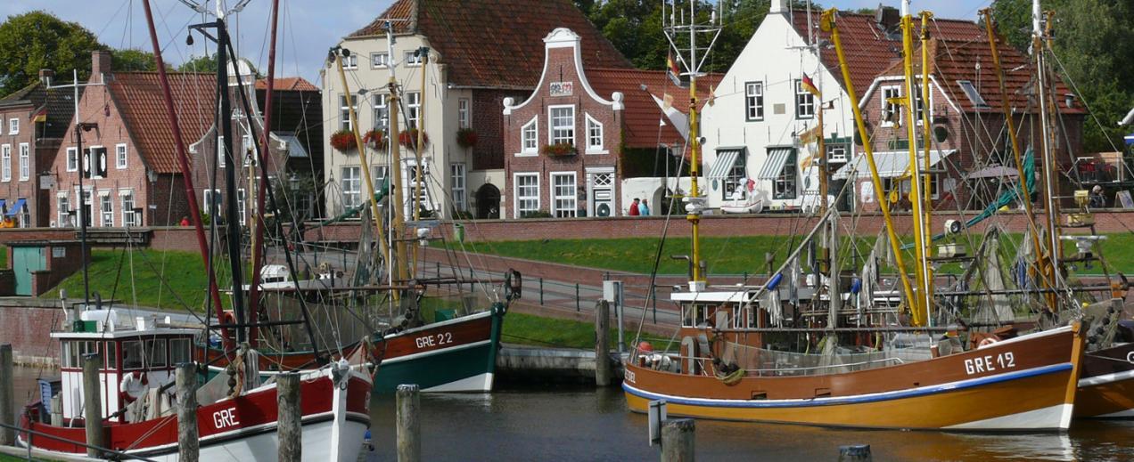 Hafen von Greetsiel, © Die Nordsee GmbH, Katja Benke