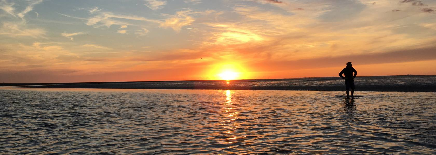 Sonnenuntergang, © Die Nordsee GmbH, Katja Benke