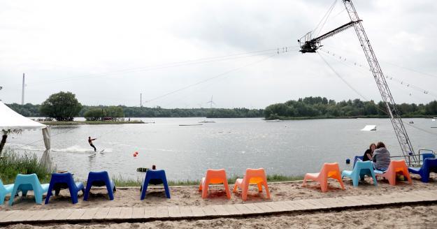 Hooksieler Skiterrassen, © Die Nordsee GmbH, Robin Schneider