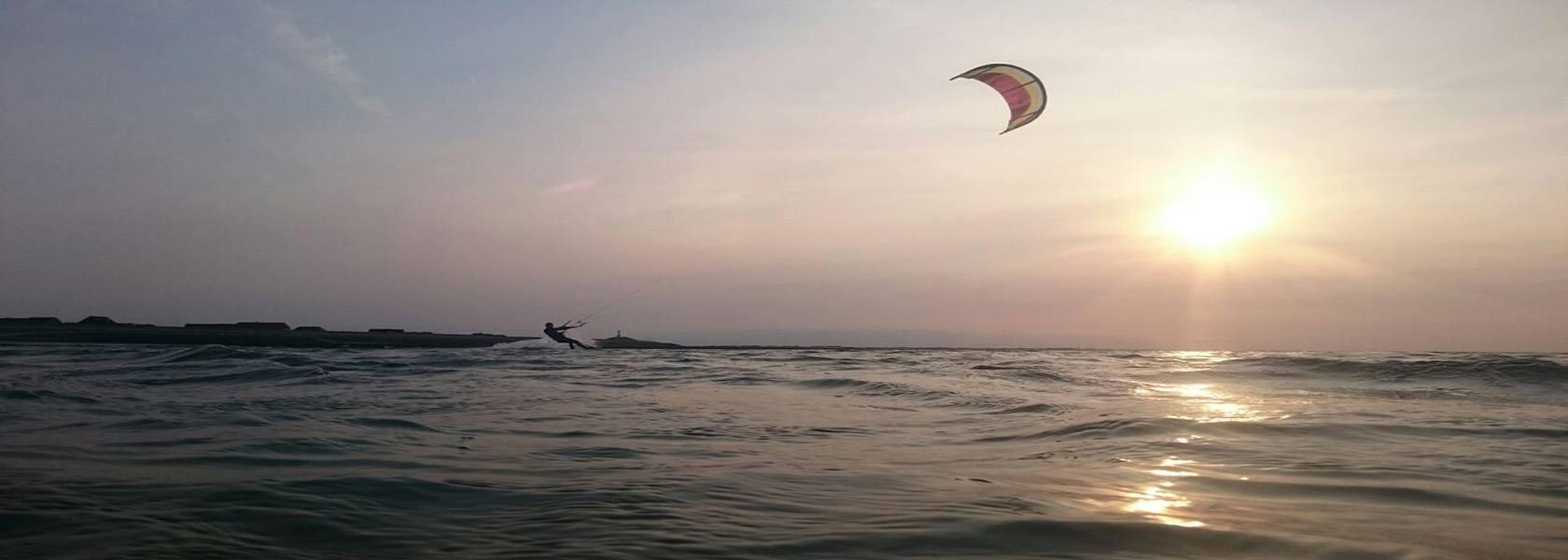 Kitesurfen an der Nordsee, © Die Nordsee GmbH, Jantje Olchers