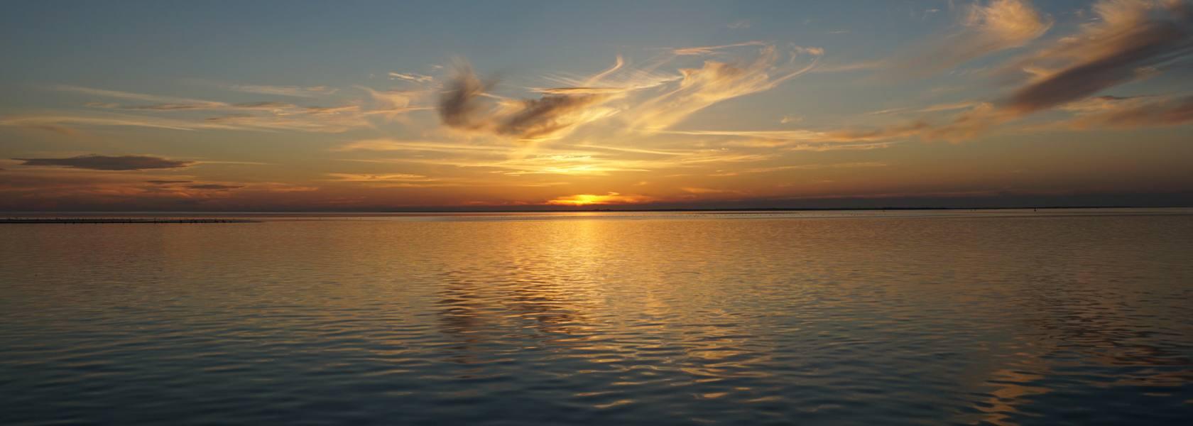Abendstimmung an der Nordsee, © Die Nordsee GmbH, Katja Benke