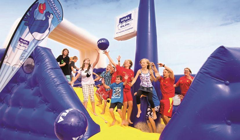 DLRG/NIVEA Strandfest, © Tourismus GmbH Gemeinde Dornum  (TGD)