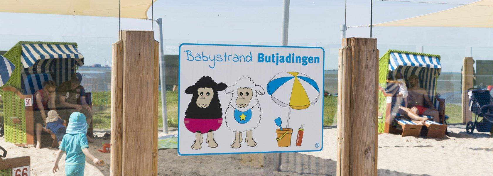 Babystrand in Tossens, © www.butjadingen.de , Fotograf Thomas Hellmann