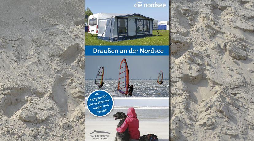 Der Faltplan für aktive Naturgenießer und Freunde der mobilen Ferienunterkunft, © Die Nordsee GmbH