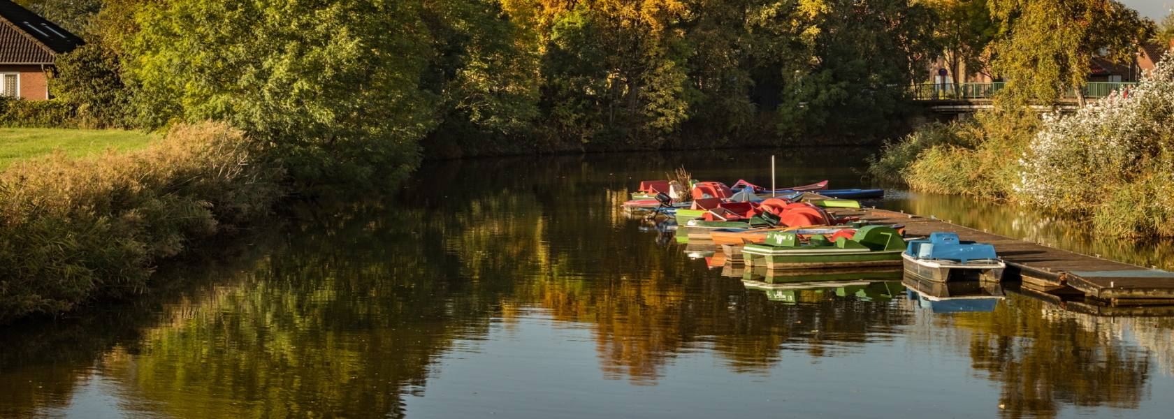 Kanal in Greetsiel, © Andrea Ullius, ullala.ch