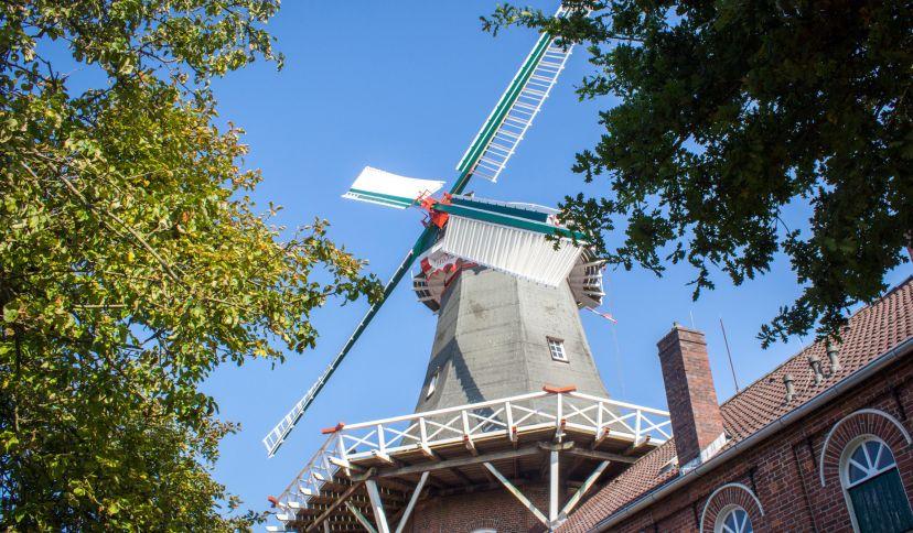 Westgaster Mühle, © Wirtschaftsbetriebe der Stadt Norden GmbH/ Carsten Lippe