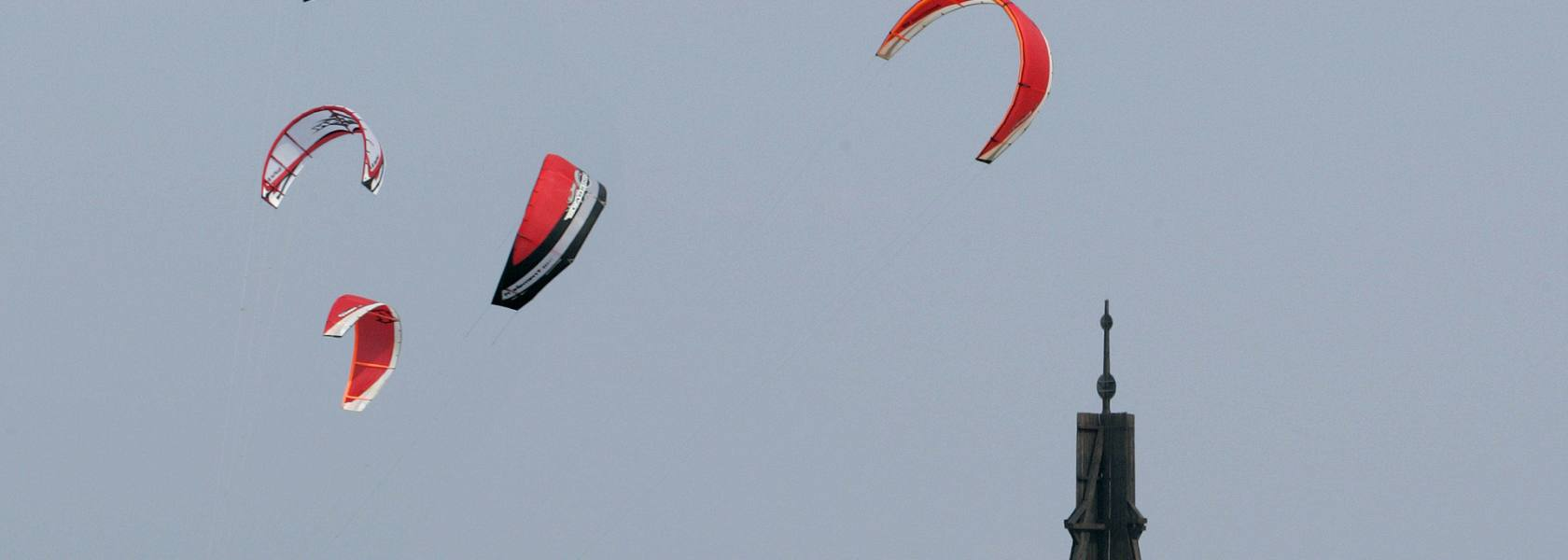 Kitesurfen in Cuxhaven, © Nordseeheilbad Cuxhaven GmbH