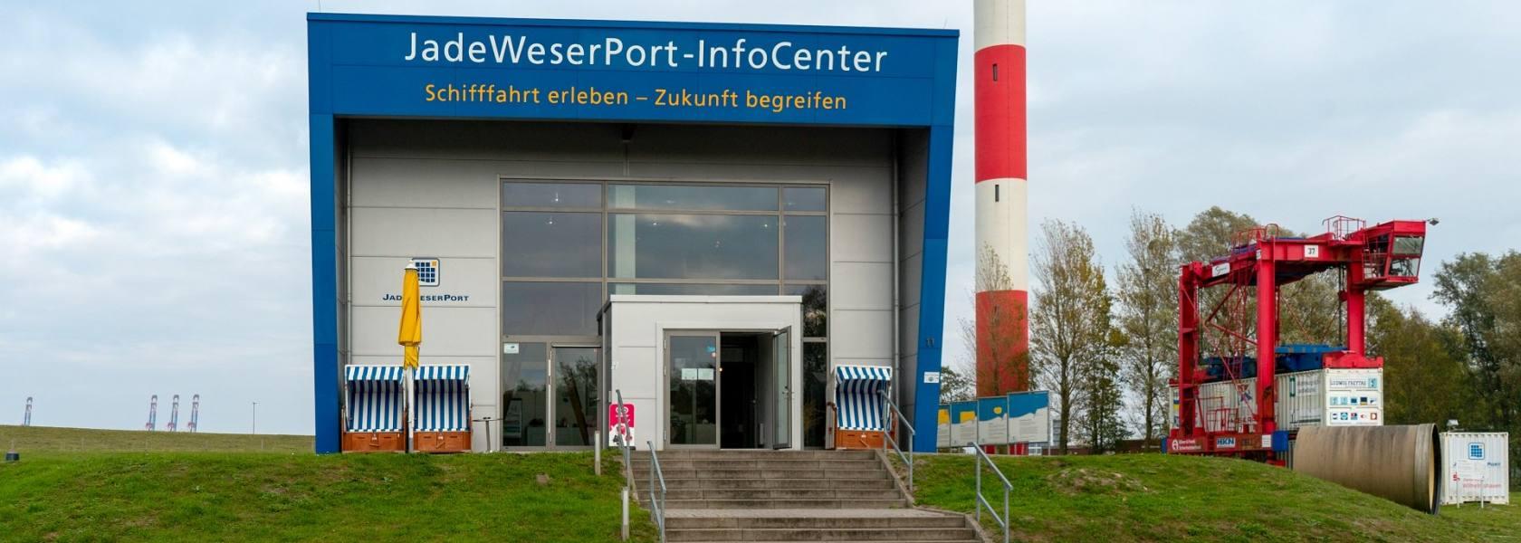 JadeWeserPort-InfoCenter, © Rainer Ganske