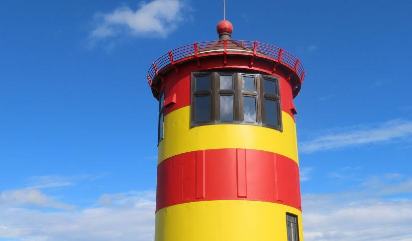 Nahaufnahme Pilsumer Leuchtturm, © Die Nordsee GmbH