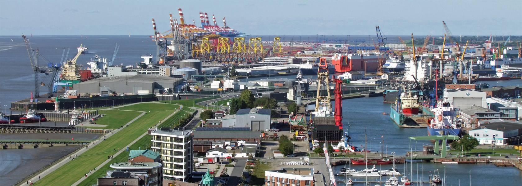 Überseehäfen Bremerhaven, © Erlebnis Bremerhaven GmbH
