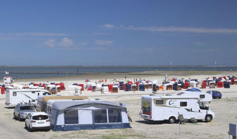 Strand- und Familiencampingplatz Bensersiel, © Esens-Bensersiel Tourismus GmbH