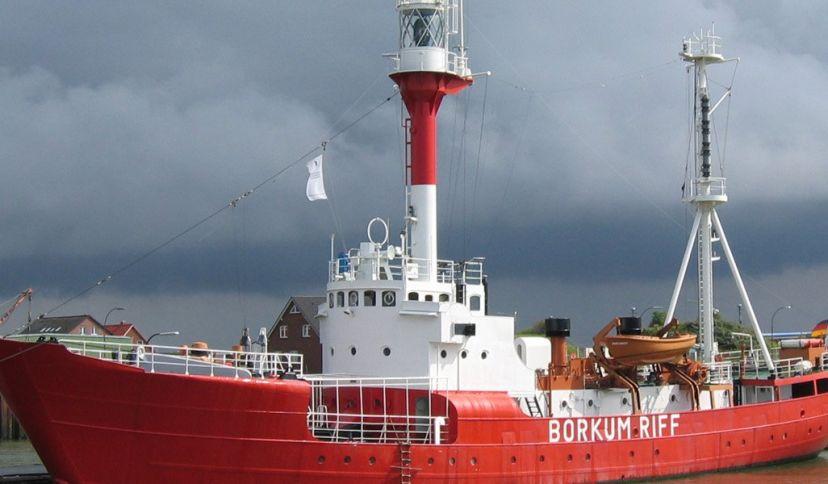 Feuerschiff Borkumriff, © Wirtschaftsbetriebe der Stadt NSHB Borkum GmbH