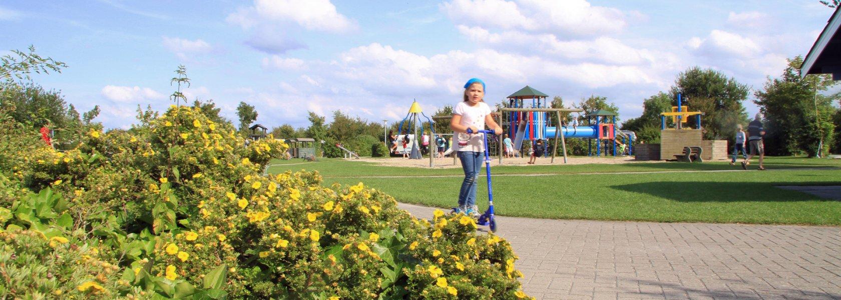 Kinderspielplatz, © Nordsee-Camp Norddeich GmbH