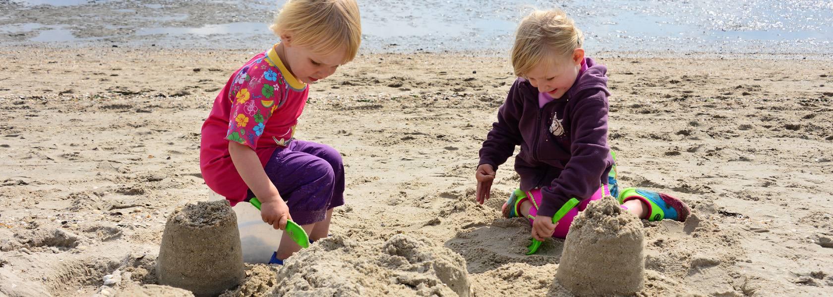 Kinder am Strand, © Beate Ulich / Die Nordsee GmbH