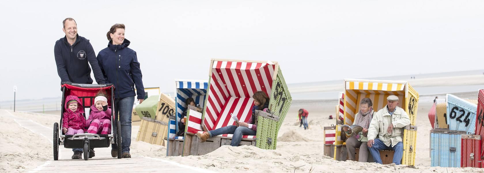 Von barrierefreien Angeboten profitieren alle Gäste der niedersächsischen Nordsee., © Martin Stöver