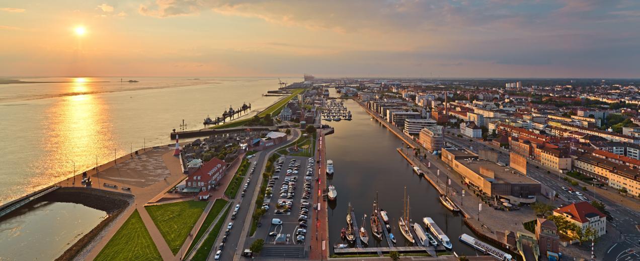 Bremerhaven Stadtansicht, © Achim Meurer/Erlebnis Bremerhaven