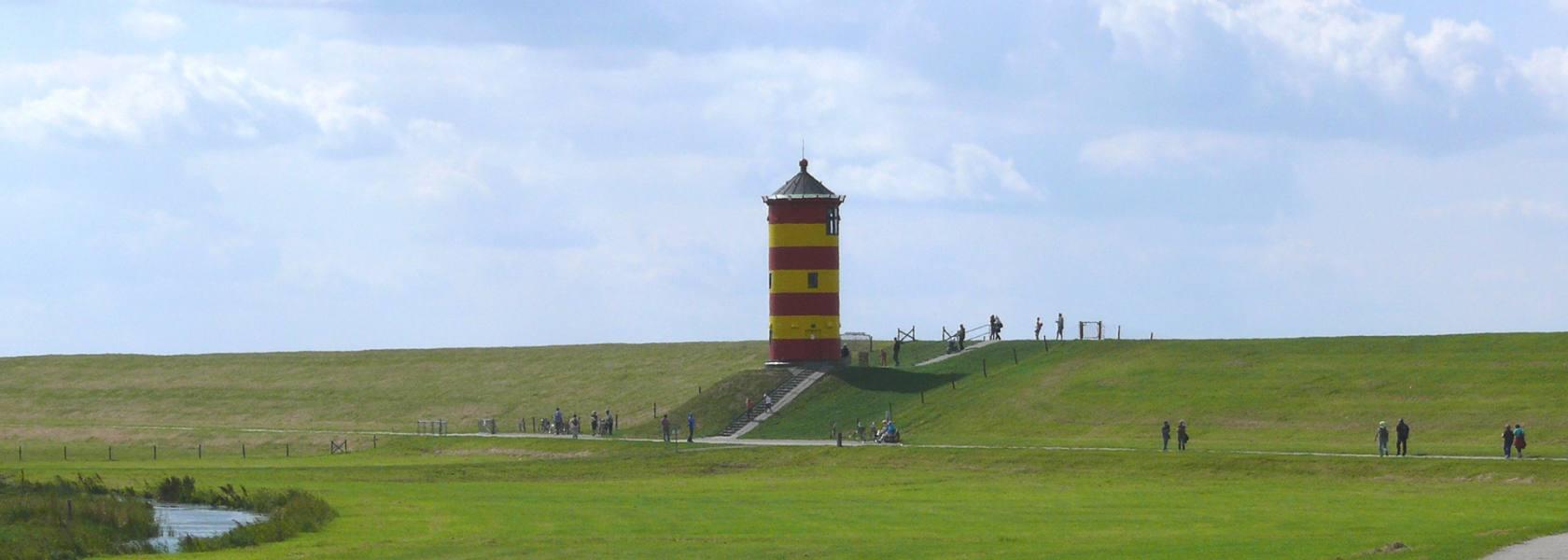 Blick auf Pilsumer Leuchtturm, © Die Nordsee GmbH