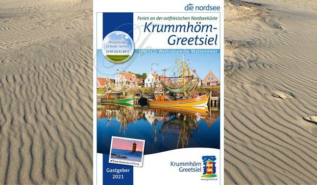 Gastgeberverzeichnis Krummhörn-Greetsiel, © Touristik GmbH Krummhörn-Greetsiel