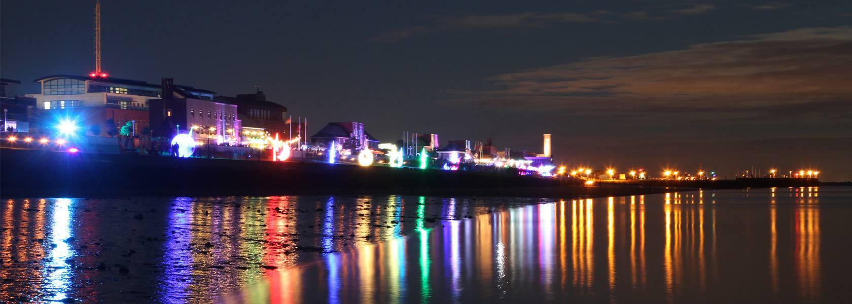 Lichterfest am Südstrand, © Wilhelmshaven Touristik & Freizeit GmbH