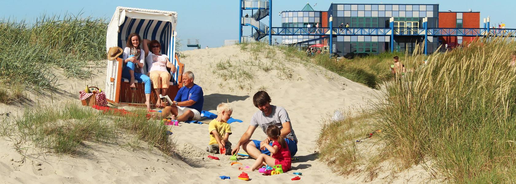 Familienstrand in Norddeich, © Tourismus Service Norddeich