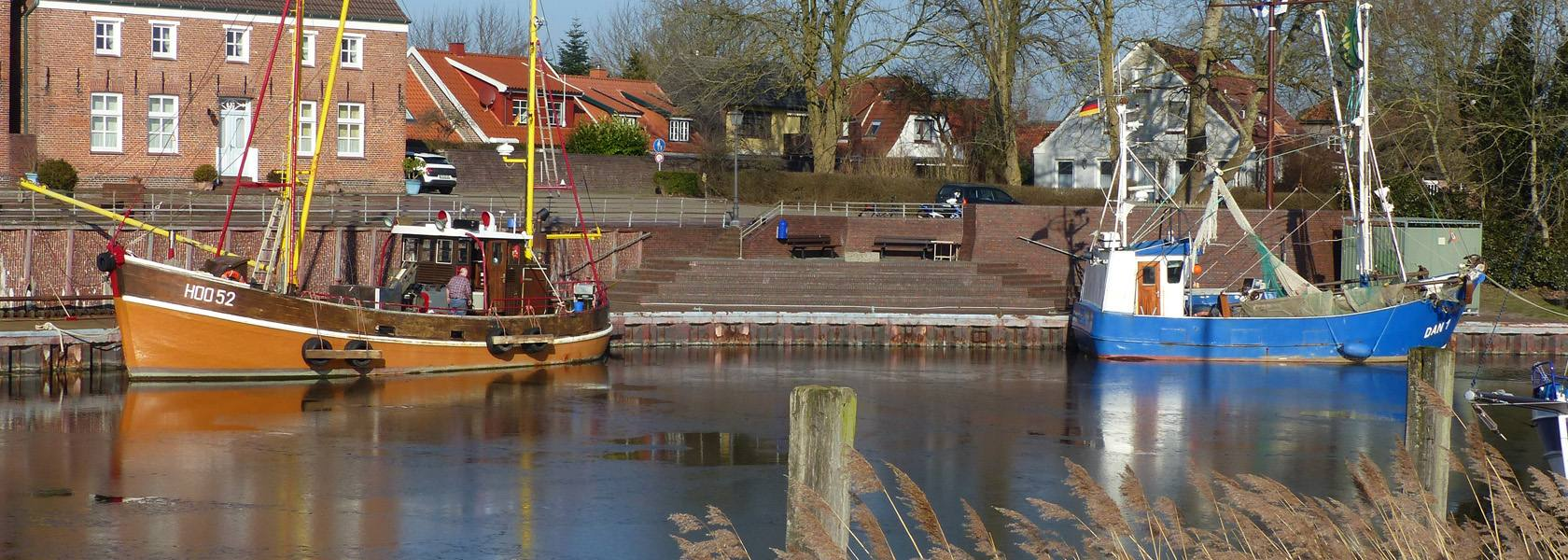 Alter Hafen Hooksiel, © Die Nordsee GmbH, Jantje Olchers
