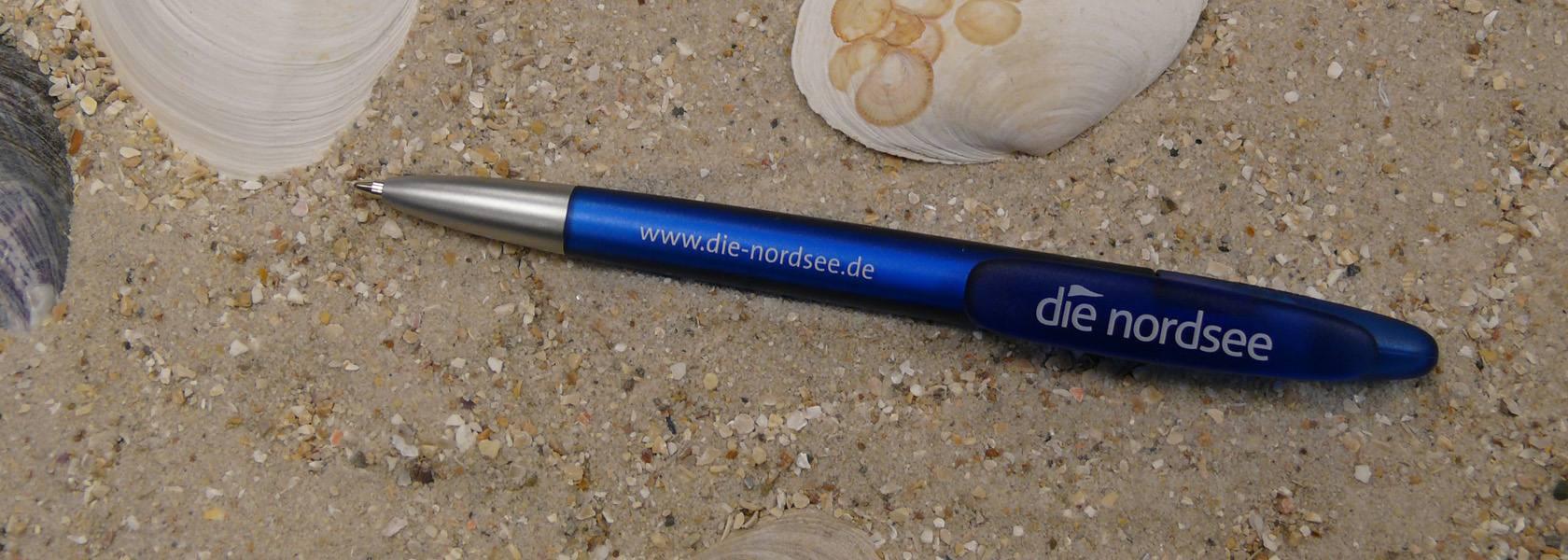 Nordsee Kugelschreiber, © Die Nordsee GmbH, Sina Schipp