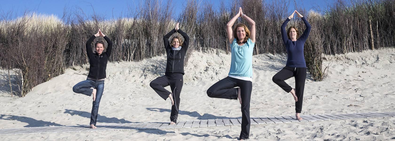Yoga am Strand, © Martin Stöver