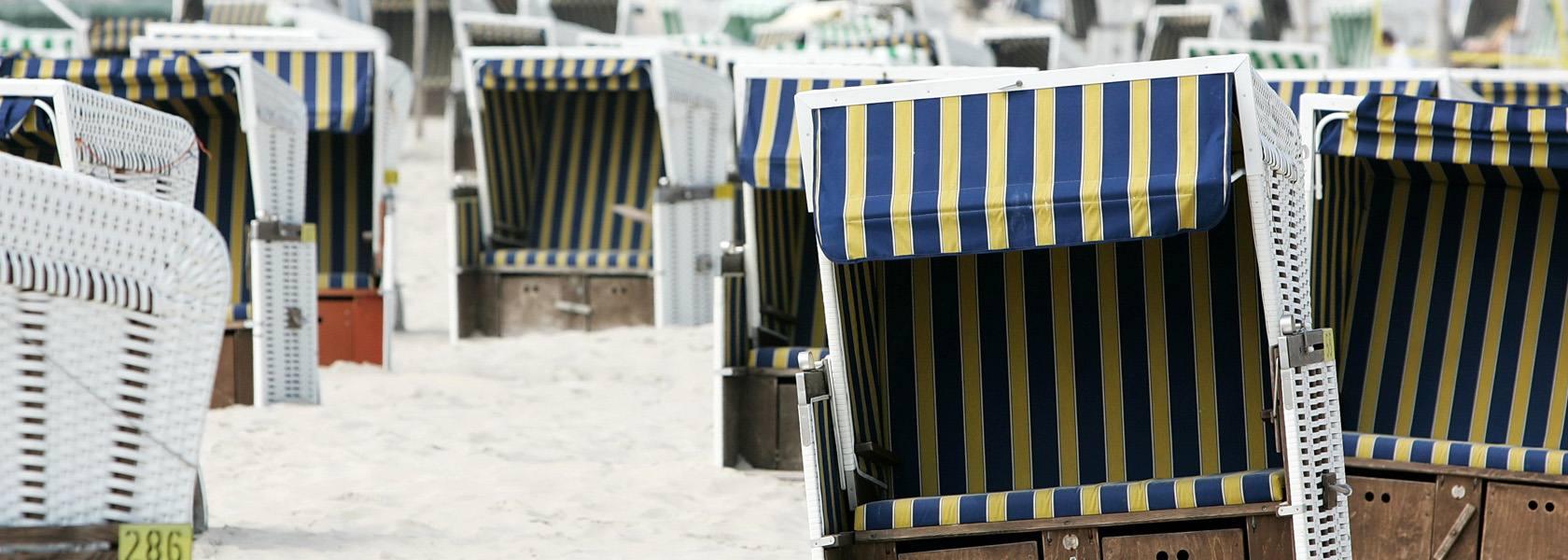Strandkörbe am Strand, © Ralf Graner