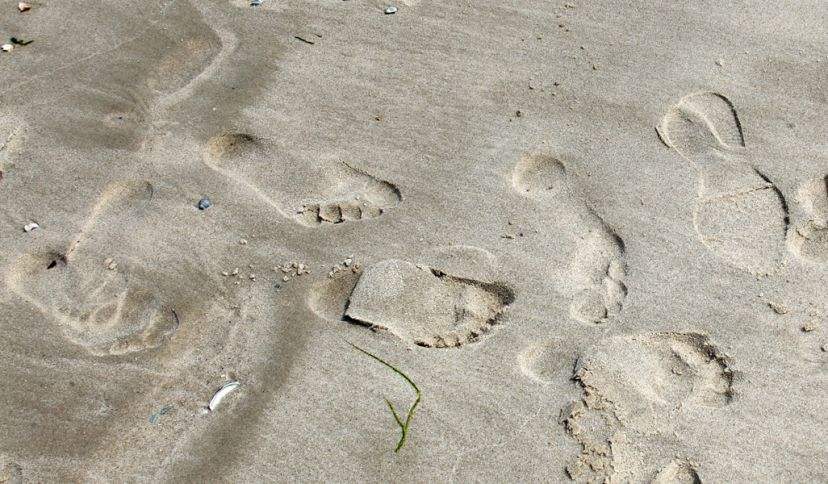 Fußspuren im Sand, © Ralf Graner