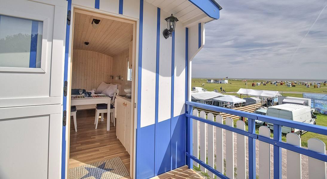 Nordsee-Karren in Schillig, © Wangerland Touristik GmbH