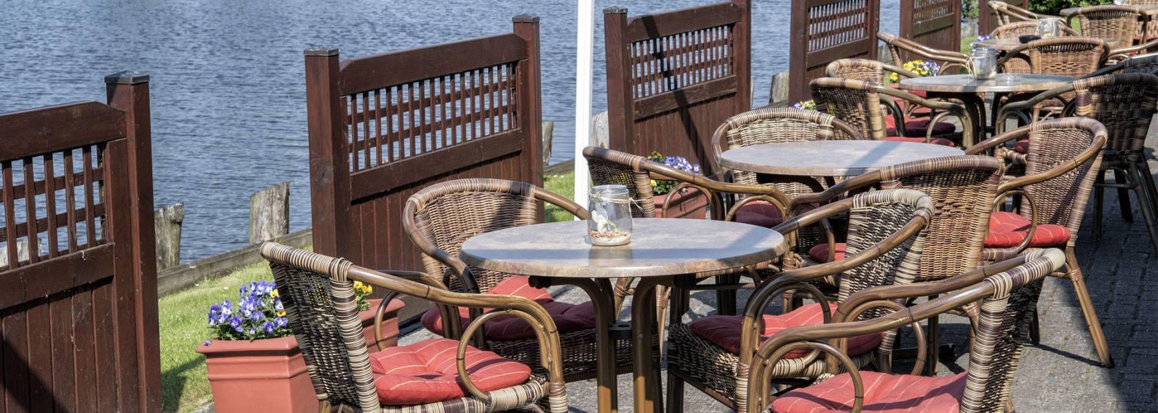 Cafe am Hafen, © Florian Trykowski