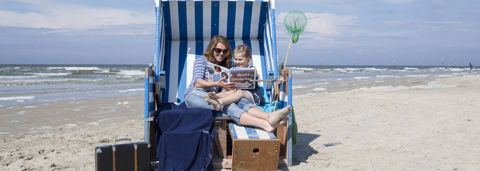 Entspannen im Strandkorb, © Martin Stöver