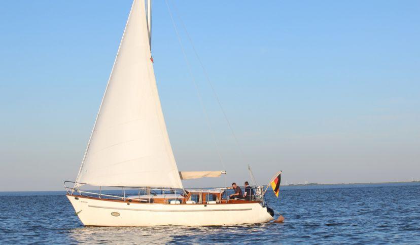 Segeln auf der Nordsee, © Die Nordsee GmbH, Viktoria Ederle