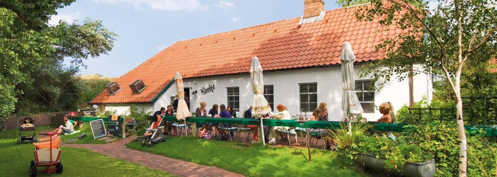 Café Kluntje auf Baltrum, © Kurverwaltung Baltrum